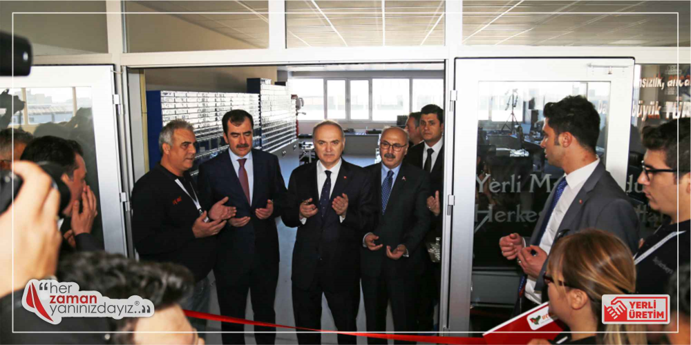 Ar-Ge Merkezi Açılış Töreninden